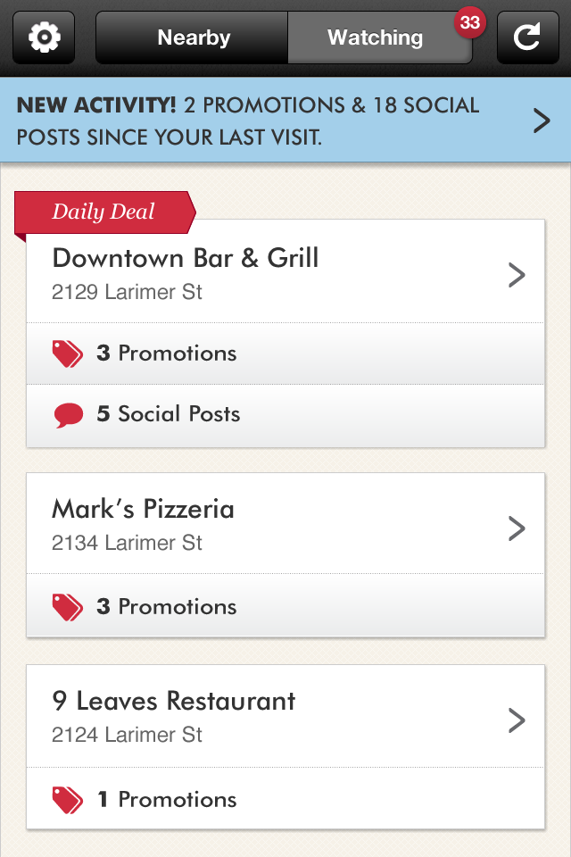 Perch – Small Business Screenshot
